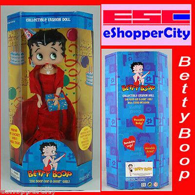 Betty Boop Talking Happy Birthday Doll Gift IC Singing](Betty Boop Happy Birthday)