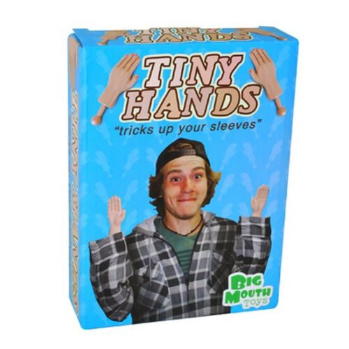 TINY LITTLE HANDS  ~Trick up Your Sleeves~ Gag Prank Magic Joke - Big Mouth Toys