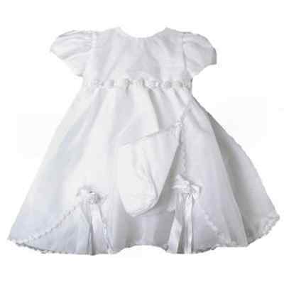 Stunning Baby Girl Heirloom Boutique Christening Gown & Hat Set, Unique Angels](Unique Christening Gowns)