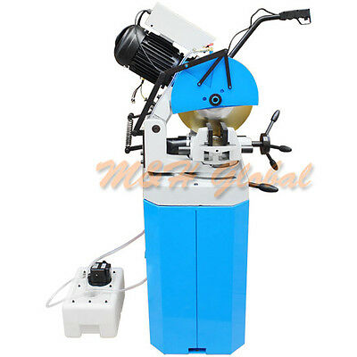 Cold Cut Swivel Base Circular Saw 14'' w/ Stand 220v 3 Phase Metal Cutter