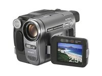Capture those moments with a Brand New Boxed Sony Handycam Digital 8 DCR-TRV285e