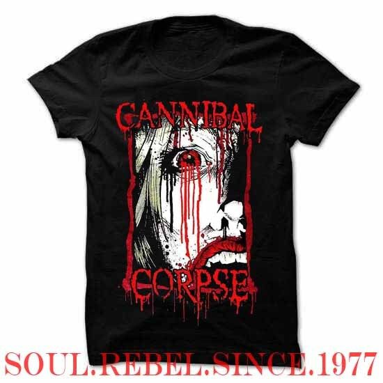 CANNIBAL CORPSE PUNK ROCK ALTERNATIVE  MEN'S SIZES  T SHIRT