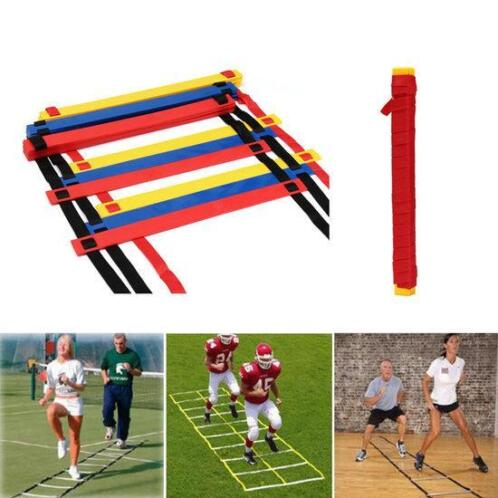 12 Rung Speed Agility Ladder Voetbal Sport Ladder Train...