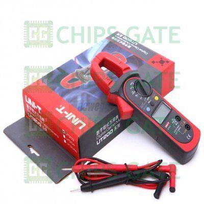 1pcs Uni-t Ut203 Digital Handheld Clamp Multimeter Dmm Dc Ac Current Meter Tes