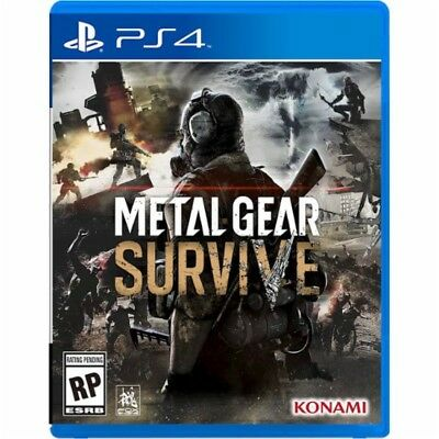 Ps4 Metal Gear Survive New Sealed Region Free Usa Game Disk Online Play