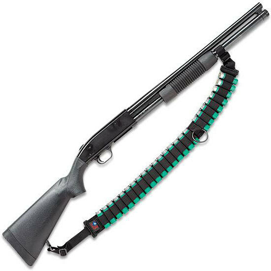 MOSSBERG 500 TACTICAL PUMP SHOTGUN AMMO SLING (25 SHELLS) BY ACE CASE - USA MADE