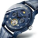 TEVISE T851A Moon Phase Automatic Mechanisch horloge Roma...