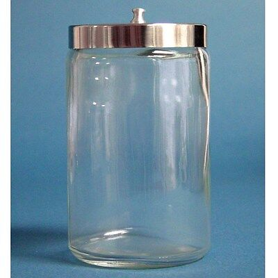 NEW Glass Sundry Jar With Lid Medical Supplies Kitchen Tools