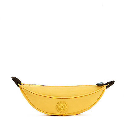 NEW KIPLING Banana pencil case /pouch AC8074