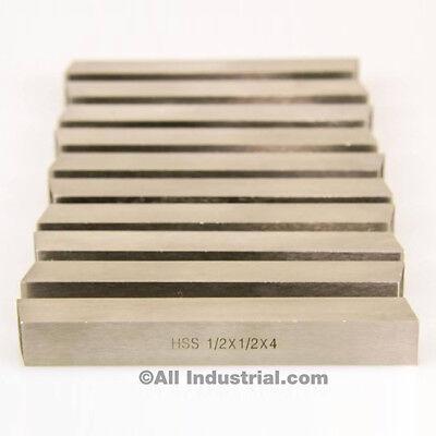5 Pcs 12 X 12 X 4 Hss Tool Bit Square Lathe Fly Cutter Mill Blank