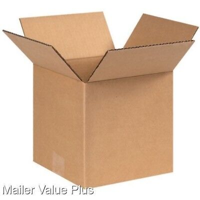 100 - 8 X 8 X 8 Corrugated Shipping Boxes Packing Storage Cartons Cardboard Box