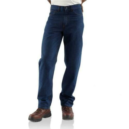 NWT Carhartt FRB100 - Flame-Resistant Straight Leg Relaxed Fit Jean 40 x 32