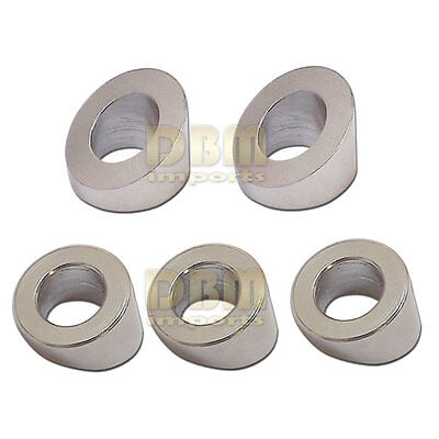 5 Pc Stainless Steel 38 Marine Cable Rail Beveled Angle Washer Stair 30 Degree