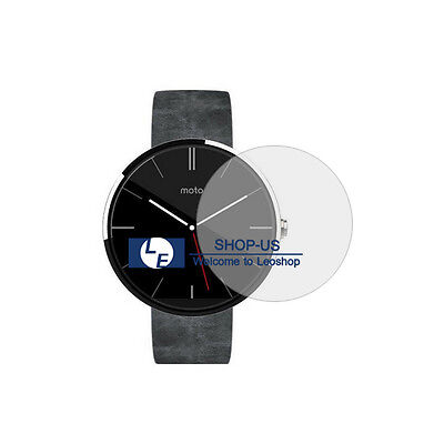 New Clear Screen Protector Cover Guard Film for Motorola Moto 360 Smart Watch