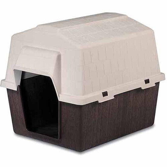 Aspen Pet PetBarn 3 Dog House Doghouse Barn Shaped Roof Warm