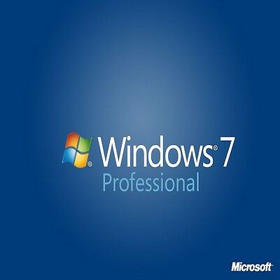 ORIGINAL WINDOWS 7 PRO 32 / 64BIT OEM GENUINE LICENSE KEY SCRAP PC