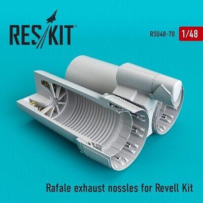 Reskit RSU48-0070 Rafale exhaust nossles for Revell Kit for model plastic 1:48