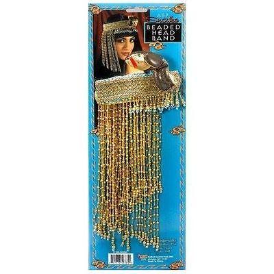 CLEOPATRA PERLEN ÄGYPTISCHE KOPFBAND, KOPFSCHMUCK KOSTÜM - Cleopatra Kostüm Zubehör