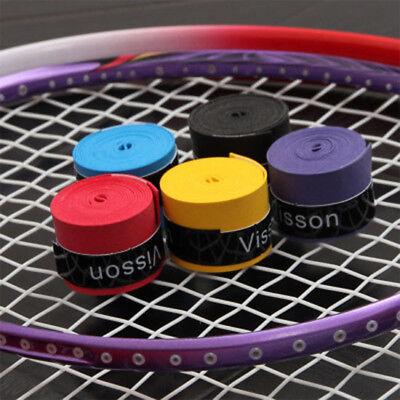 2PCS Antirutsch Griffbänder Tennis Griffband Federball Overgrip Badminton Basicg (Tennis-ball Grip)