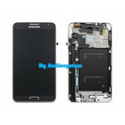DISPLAY LCD+TOUCH SCREEN +FRAME SAMSUNG GALAXY NOTE 3 NEO SM-N7505 NERO VETRO