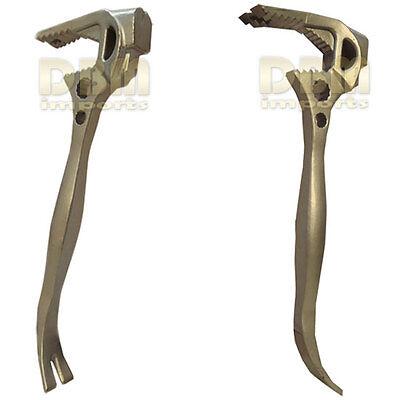 Multipurpose 15  Pry Wrecker Wrecking Bar Nail Puller Fubar Utility Breaker Claw
