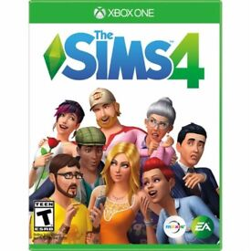 Sims 4 Xbox One Christmas pick up, can deliver local