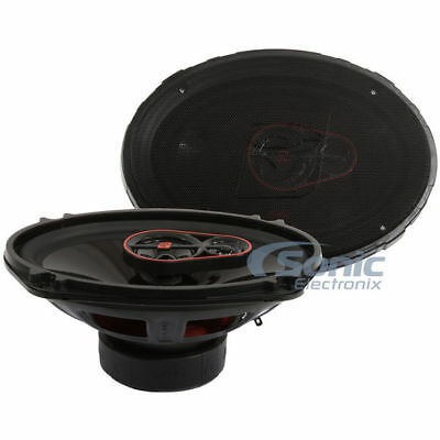 Cerwin Vega 840W 6  X 9  Hed Series 3 Way Coaxial Car Stereo Speakers   H7693
