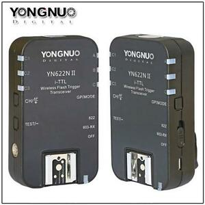 Yongnuo YN-622N II Wireless Flash Trigger TTL for Nikon