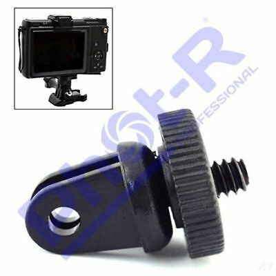 "Phot-R 1/4"" Tripod Screw Adapter Mount any Ordinary Camera to GoPro Hero 5 4 3+"