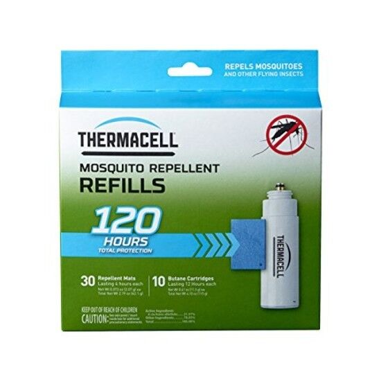 Thermacell R-10 Mosquito Repeller Refill 120 Hour Mega Pack