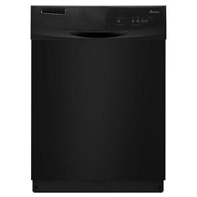 """Amana Lofty Tub 24"""" Black Built In Dishwasher Heated Dry Energy Star ADB1100AWB"""