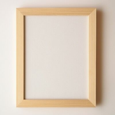Precious Japanese Cedar Frame for Wood Collage 242×303mm / for Middle difficulty