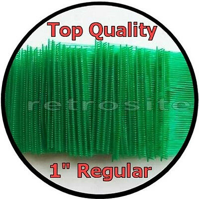 "1000 GREEN Price Tag Tagging Gun 1"" (1 Inch) REGULAR Barbs Fasteners TOP QUALITY"