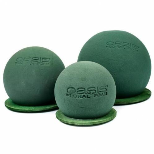 Betere ≥ OASIS® Bloemen Steekschuim bal bol kogel (oase bloemschikken PL-33