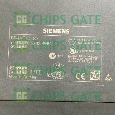 1pcs Used Siemens 6es7416-2xn05-0ab0 Tested In Good Condition