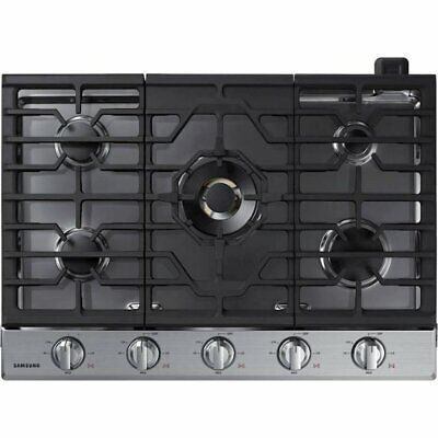 """Samsung Part#: NA30N7755TS 30"""" Stainless Steel Gas Cook-top (BRAND NEW)"""