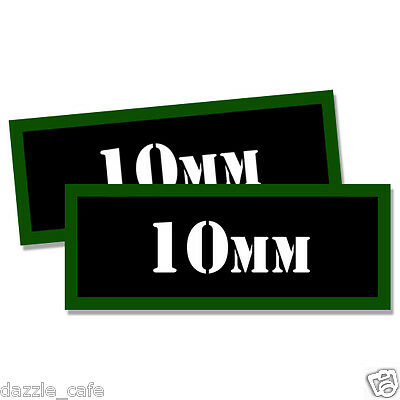 10MM Ammo Can 2x  Labels 10MM Ammunition Case 3