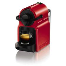 Krups Inissia XN1005 Independiente Máquina de café en cápsulas Rojo rubí 0,7 L