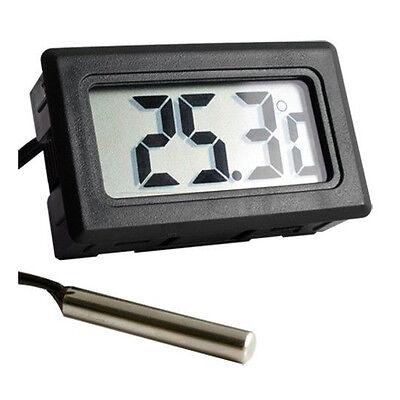 LCD Thermometer digital -50° bis +110° Digitalthermometer Temperatur messer Neu