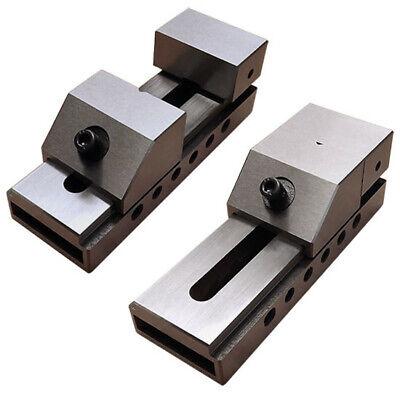 2 Screwless Toolmaker Tool Making Precision Grinding Vise
