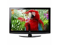 LG 32 inch HD LCD TV - With Freeview