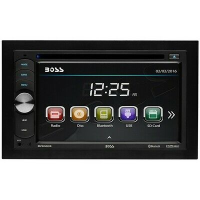 BOSS AUDIO BV9351B Double-DIN 6.2 inch Touchscreen DVD Playe
