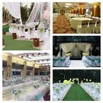 50Pcs Spandex Stretch Wedding Party Chair Cover Band Sash...