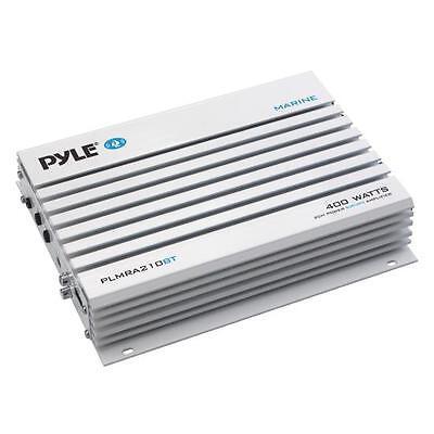 Pyle Elite PLMRA210BT Marine Amplifier - 200 W RMS - 400 W P