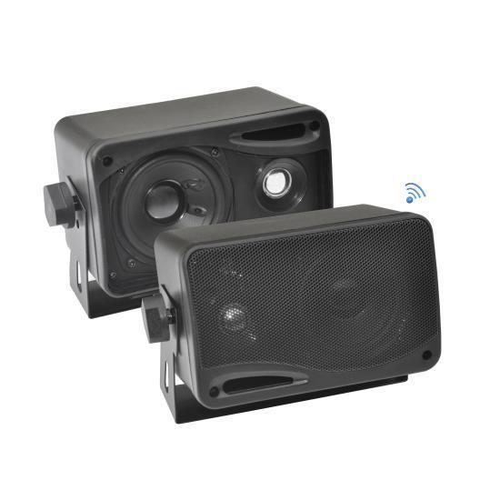 """Pyle 3.5"""" Bluetooth Home Speakers, 3-Way Indoor/Outdoor Sp"""