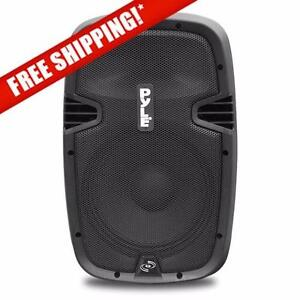 PYLE PPHP837UB 8'' 600 Watt Bluetooth Powered Speaker System W/ USB AUX/MP3 Input with Remote