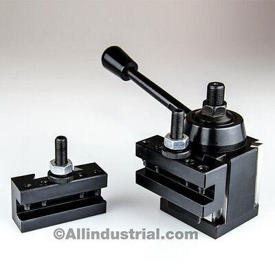 3 Pc Axa Wedge Tool Post Intro Set Cnc Turningfacing Boring Lathe Holders