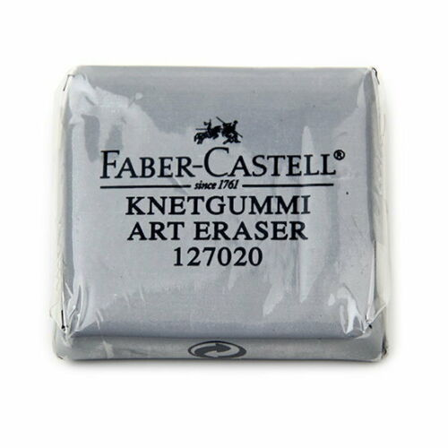 Faber-Castell 127020 Kneaded Art Eraser x1pc For Grey Drawing Sketch Art Pastel