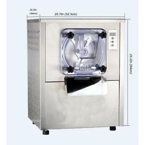 Commercial Hard Ice Cream Machine 1Flavor Ice Cream Maker Table Top Frozen Ice Cream Mix 110V 210033