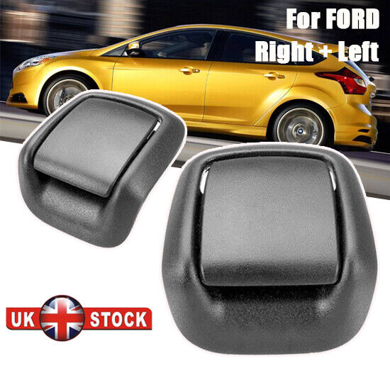Car Parts - 1 Pair Stable Car Seat Tilt Release Handle Left & Right For FORD Fiesta MK6